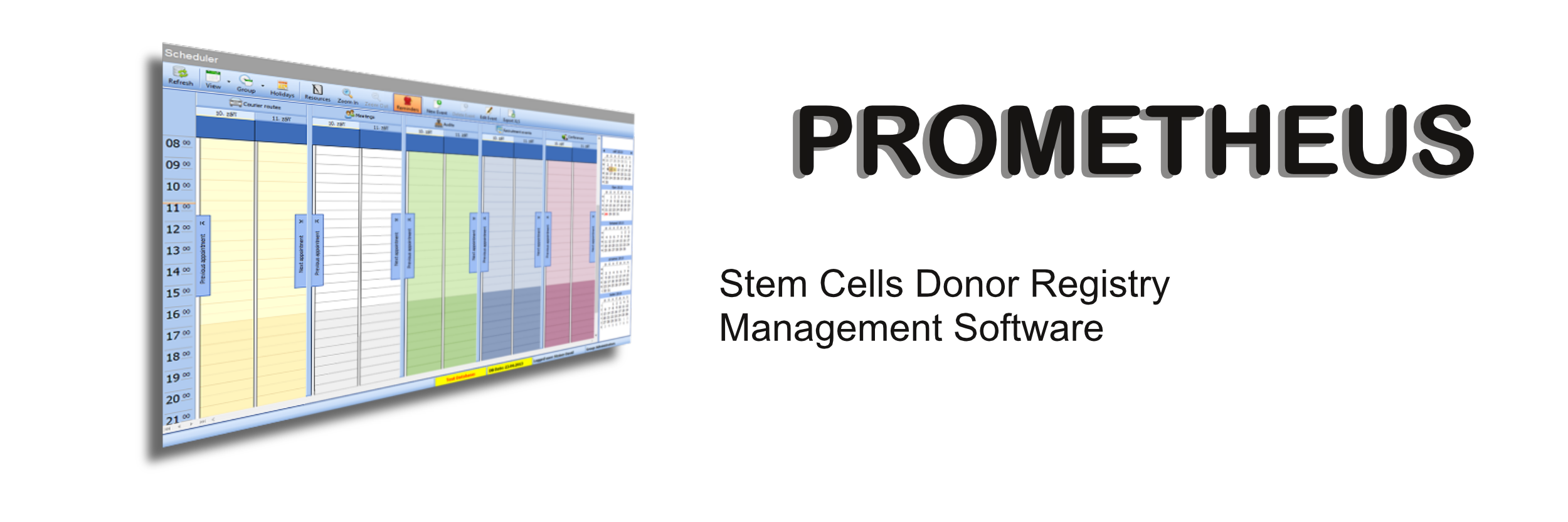 PROMETHEUS - BMD Registry Management Software